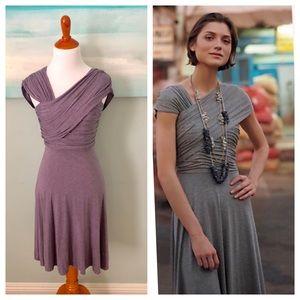 Anthro Dreamy Drape Dress by Plenty Tracy Reese